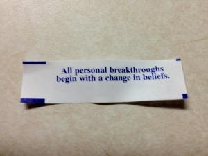 change belief